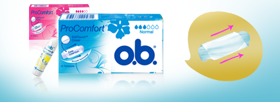 o.b.® ProComfort Normal & Super tamponit