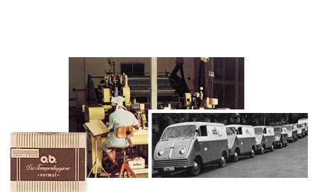 Ensimmäiset askeleet kohti menestystä (1950) - o.b.® tamponit