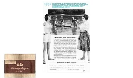 o.b.®-pioneerivuodet (1952) - o.b.® tamponit