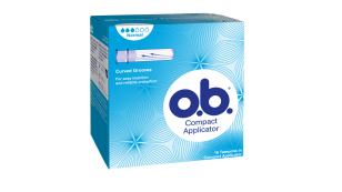 o.b.® Compact Applicator Normal tamponit