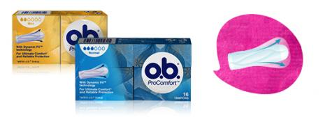 o.b.® ProComfort Normal & Super tamponit
