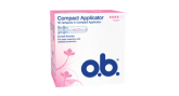 o.b.® Compact Applicator Super tamponit