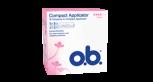 o.b.® Compact Applicator Super tamponit